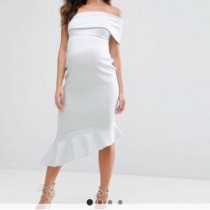 ASOS Maternity pale blue dress